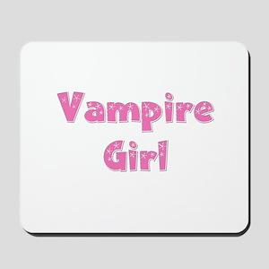 Twilight ~ Vampire Girl [PINK Mousepad